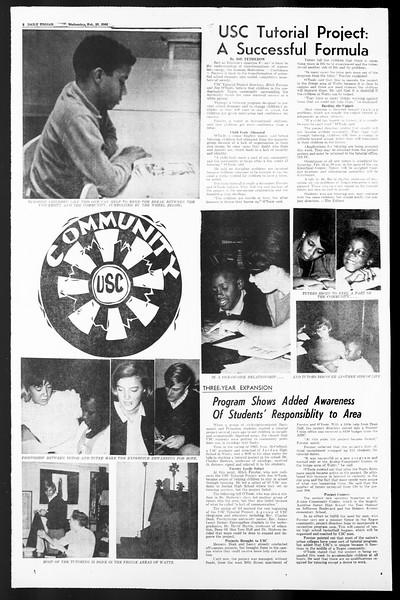Daily Trojan, Vol. 57, No. 69, February 16, 1966
