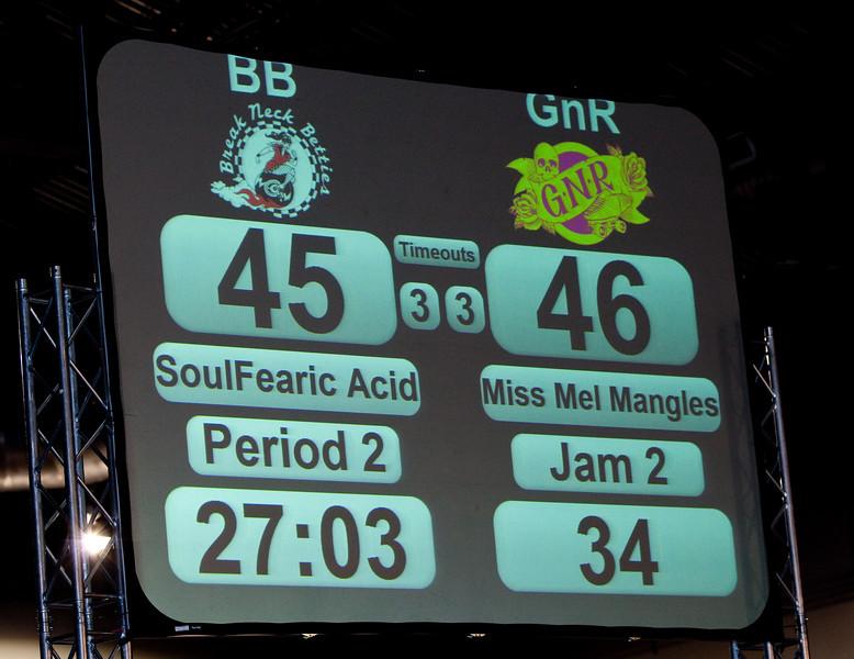GNR v. Betties, Second Half