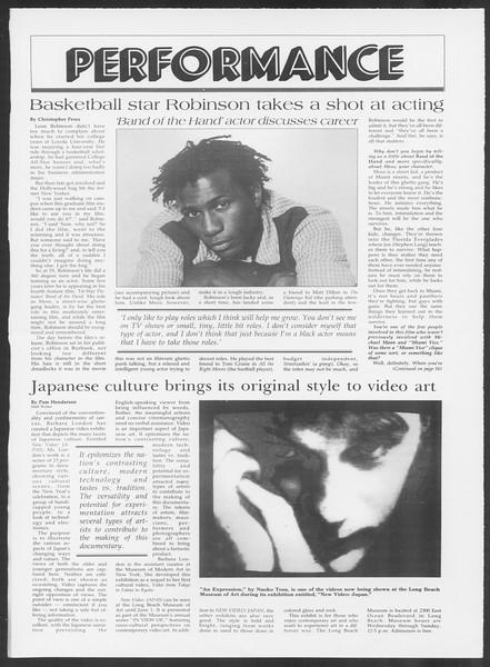 Daily Trojan, Vol. 100, No. 62, April 17, 1986