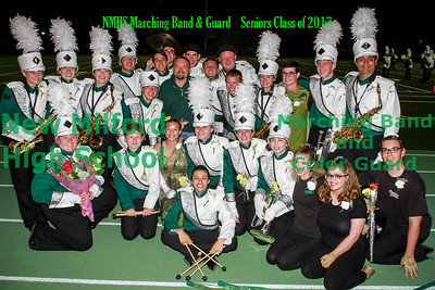 NMHS Band & Guard SENIORS!