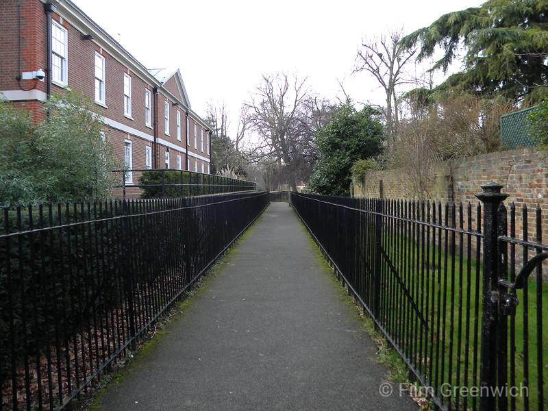 Morden College Walkway