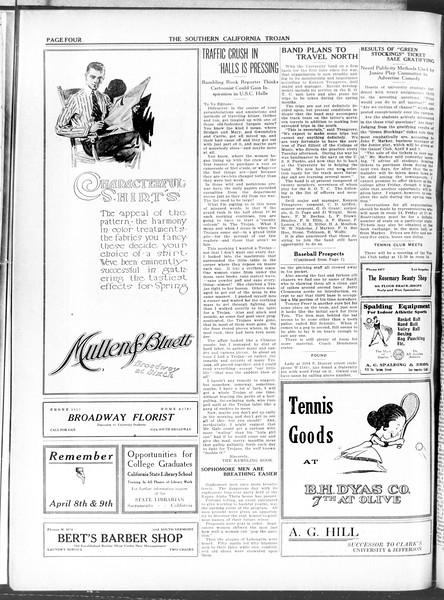 The Southern California Trojan, Vol. 11, No. 76, March 25, 1920