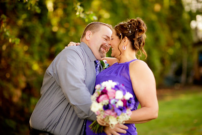 Brian and Denise Intimate Wedding Ceremony at the Aloha Church of God in Beaverton, Oregon OR