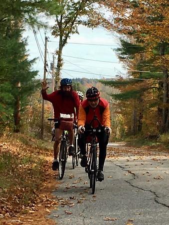 October 16 Wednesday Ride