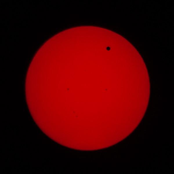 Transit of Venus 2012 June 05