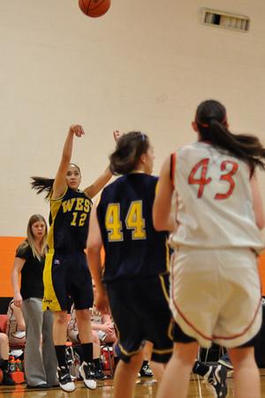 Dallas vs. West Albany Girls Basketball Frosh/JV/Varsity