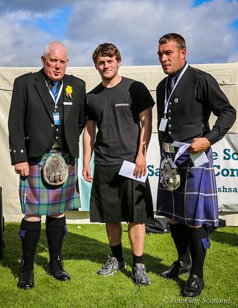 Scottish Backhold Wrestling Prize Winner - Max Freyne