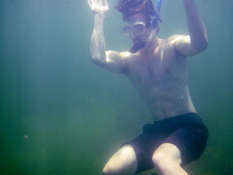 snorkeling at grassy key-15