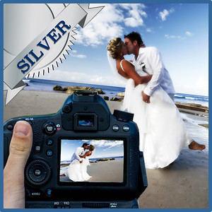 31103 Professional wedding day photography Silver