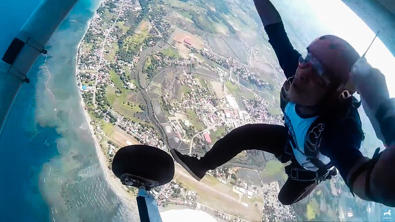 Southeast Asia adventures Skydiving in Philippines