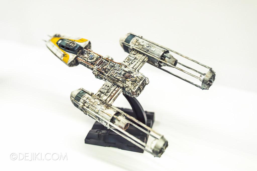 STGCC 2016 - Star Wars Bandai - Y-wing fighters