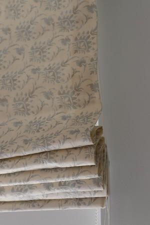 Fabric Roman Shades