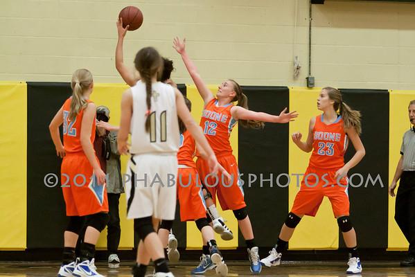 Girls Varsity Basketball # 12- 2011
