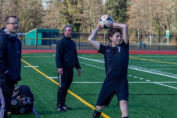 Set one: Boys Varsity Soccer v Overlake 03/09/2019