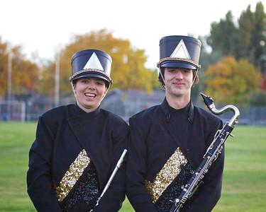 2014/10/17 MHS Marching Band @ Football