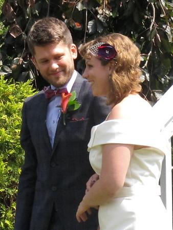 Samantha and Nils. Wedding on August 10, 2013 at Holiday Lakes, Ohio