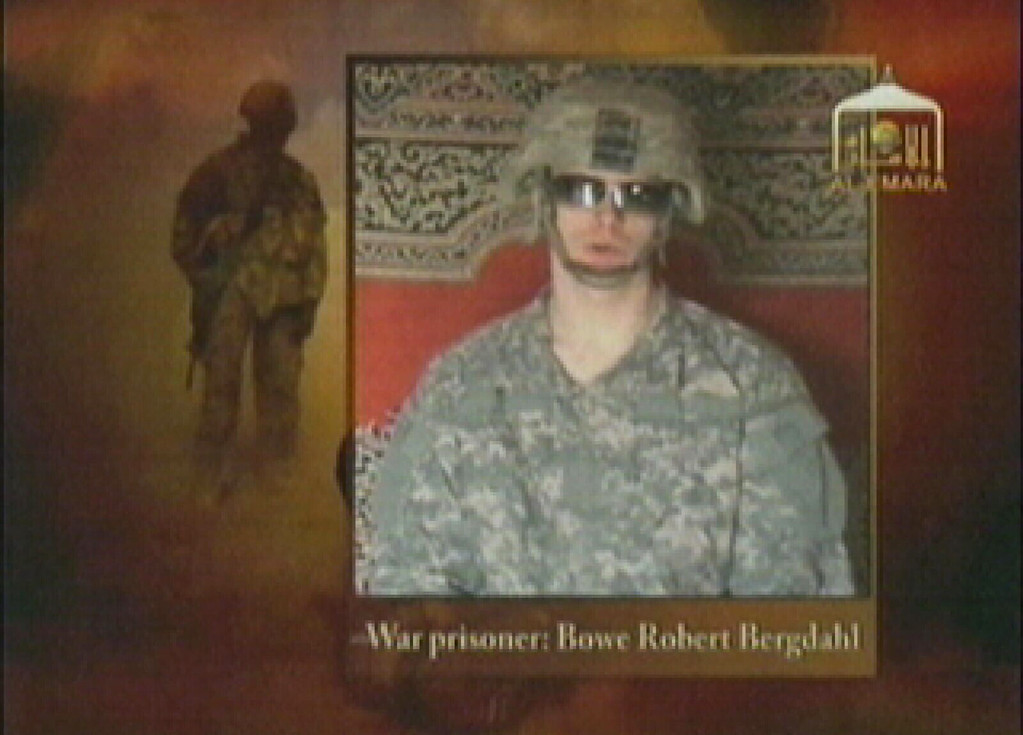 . This video frame grab from the Taliban propaganda video released Friday Dec. 25, 2009 purportedly shows U.S. soldier Pfc. Bowe Bergdahl, 23, of Ketchum Idaho who was captured more than five months ago in eastern Afghanistan.It could not be confirmed immediately that it was Bergdahl in the new video, which was released to The Associated Press and other news organizations. The man identifies himself as Bergdahl, born in Sun Valley, Idaho, and gives his rank, birth date, blood type, his unit and mother\'s maiden name before beginning a lengthy verbal attack on the U.S. conduct of the war in Afghanistan and its relations with Muslims. (AP Photo/Militant Video)