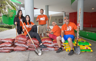 Care Day - Greenberg Traurig at Miami Edison High - March 10, 2018