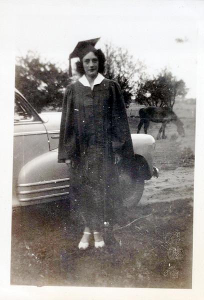 1942 Vivian Mudge graduation.jpeg
