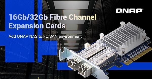 Placas de expansão Fibre Channel
