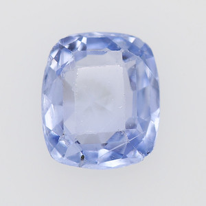 1.77 Post-consumer sapphire, light blue cushion (PCS-1225)