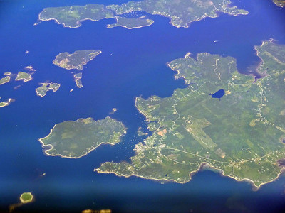 Maine from 38,000' and 40,000' June 2012