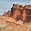 The amazing upheaval of the Waterpocket Fold, one of the main features of Capitol Reef National Park