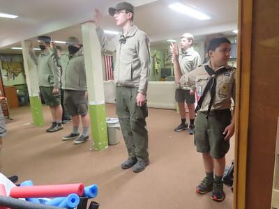 Troop Meeting - Oct 19