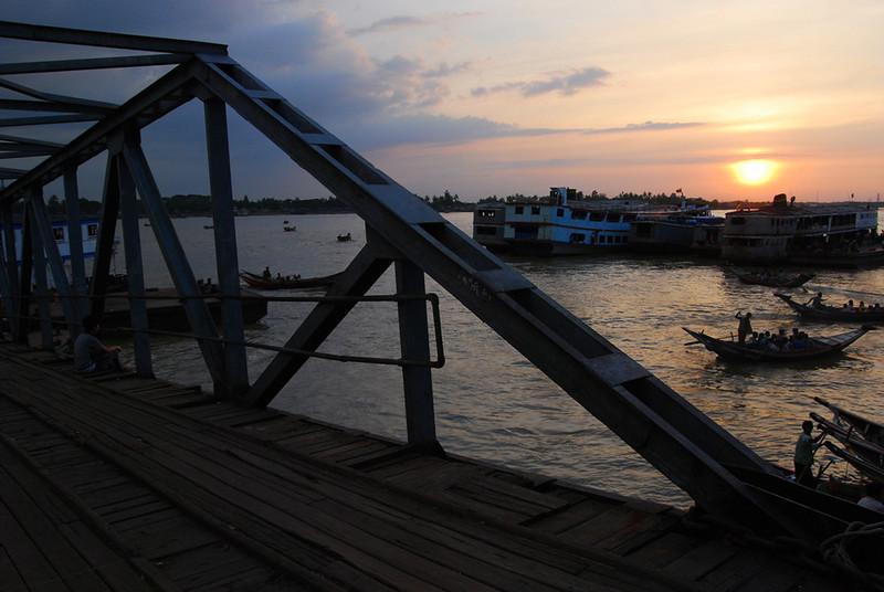 Yangon River at Sunset Myanmar (3).jpg