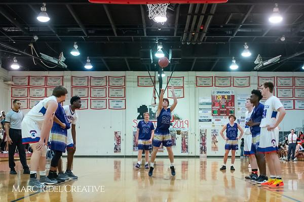 Broughton boys varsity basketball vs Sanderson. February 12, 2019. 750_6464