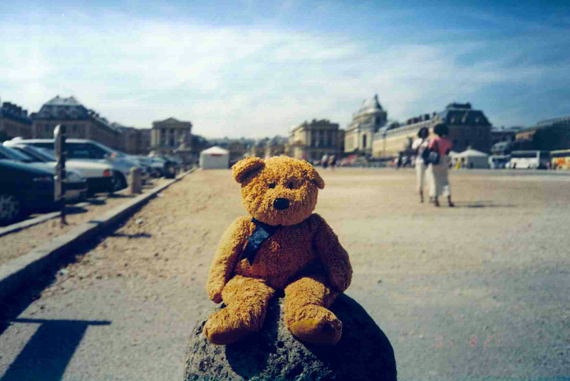 Teddy in front of the Castle.jpg