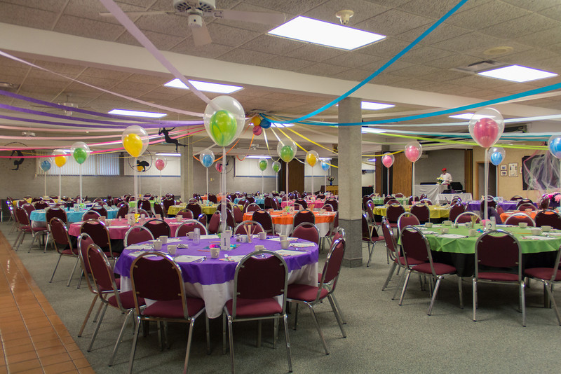 Mother's & Daughter's Banquet 2014