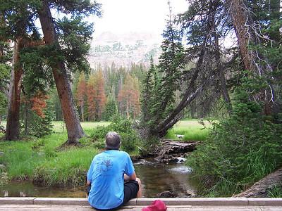 High Uintas hike 2008