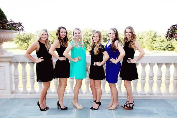 Senior Rep Models Group Shots