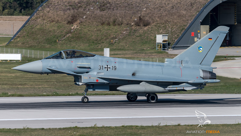German Air Force TLG74 / Eurofighter Typhoon / 31+19