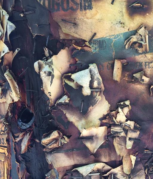 Burnt Posters, Portland, 2015