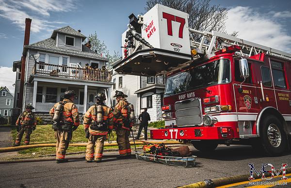 Buffalo NY, House Fire 5-16-2021