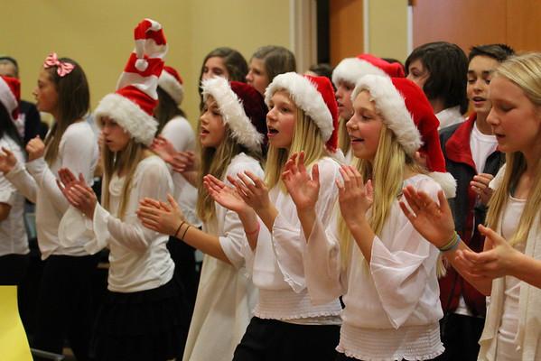 Choir at CentraCare - 12/12/14 - KCMS