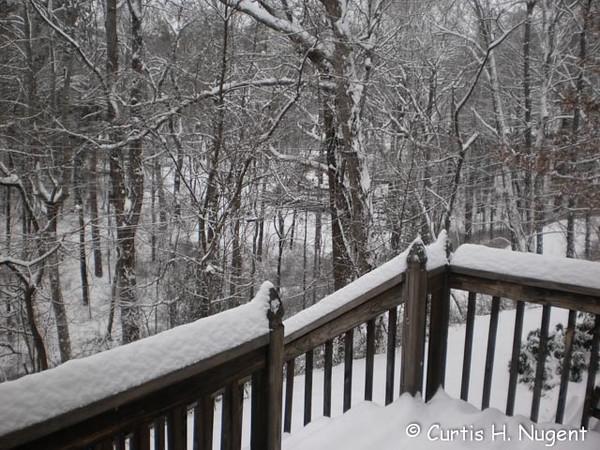 Snow in Asheville 02/13/2014