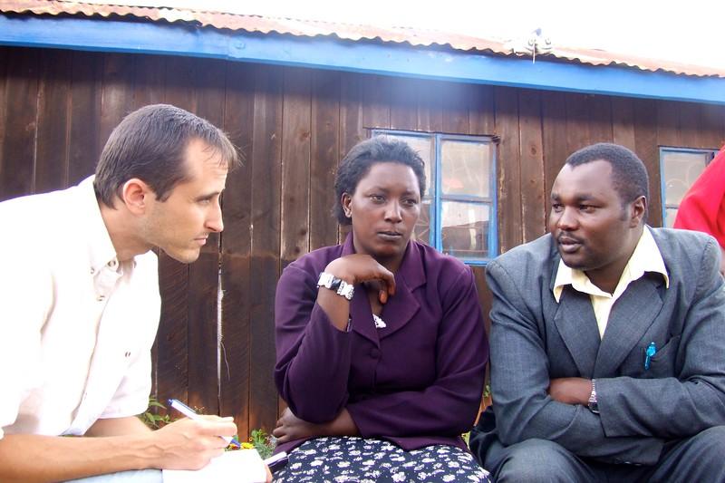 Limuru IDP Camp  OFM team
