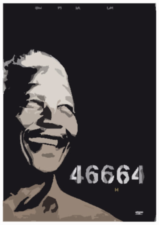 (C16) Mandela with number