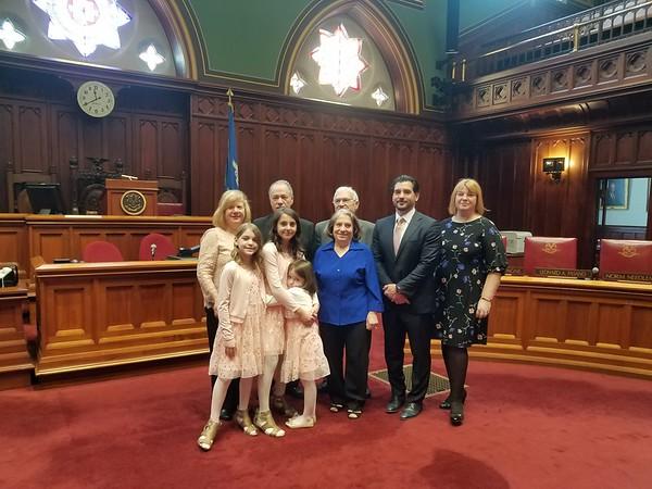 Bizzarro and his family