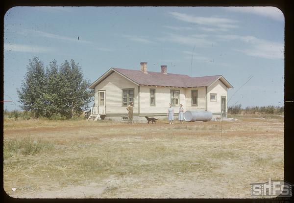 Sam Allan home. Bracken. 08/20/1952