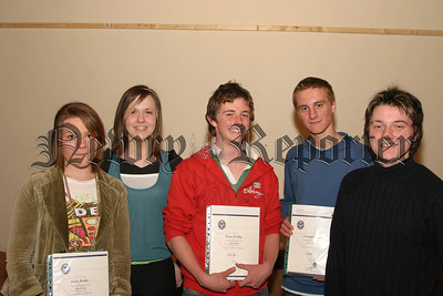"The ""Newry Duke of Edinburgh Open Award Group"" who received certificates and medals in physical and voluntary service to the local community,06W22N64"