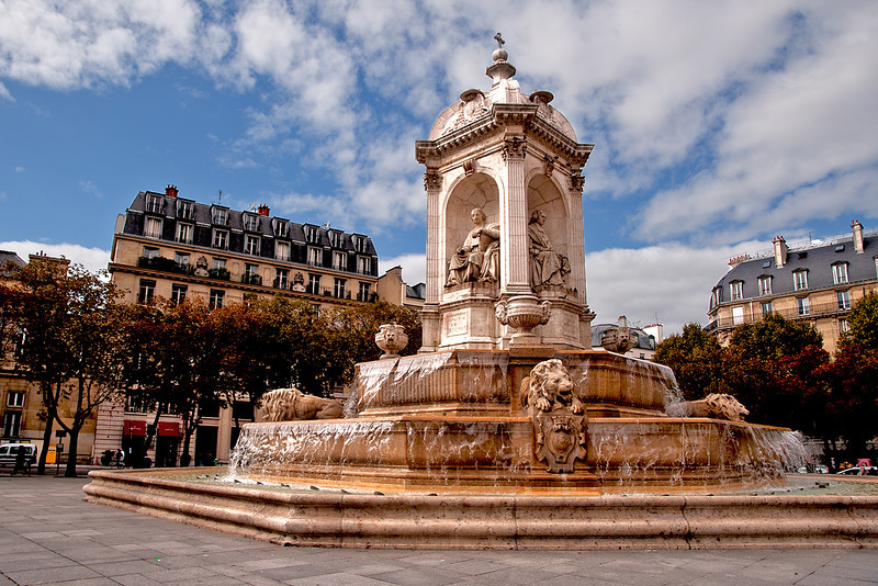 Fountain at St. Sulpice