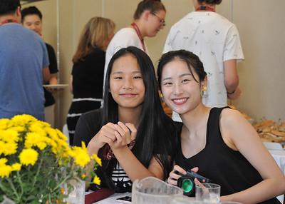 International Student Lunch Sept 4