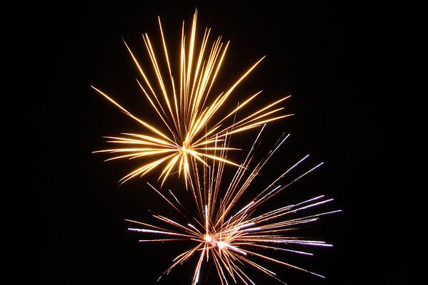 2007 07-07 Fireworks in Beaverdam