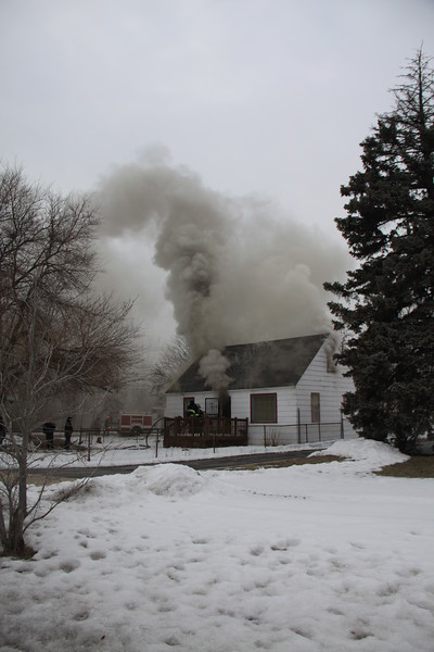 Robbins Fire Department Full Still For The House Fire