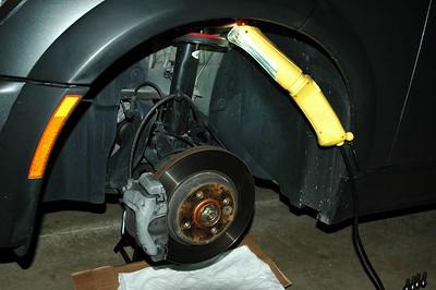 JCW Brake install