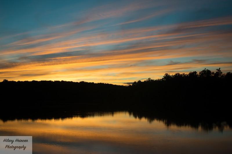 Lake Mercer Sunset